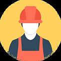 icone ouvrier de chantier