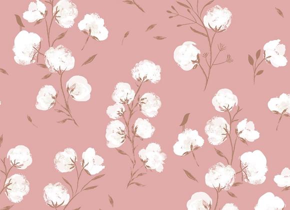 Tissu Soft-Shell Cotton Flower