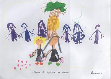 spectacle dansez du bon temps - école Curégan Blanquefort
