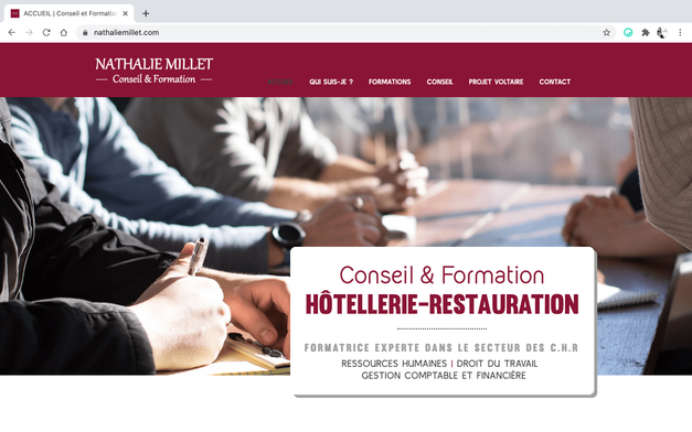 Nathalie Millet - Conseil & Formation