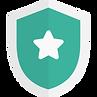 bouclier de sécurité vert