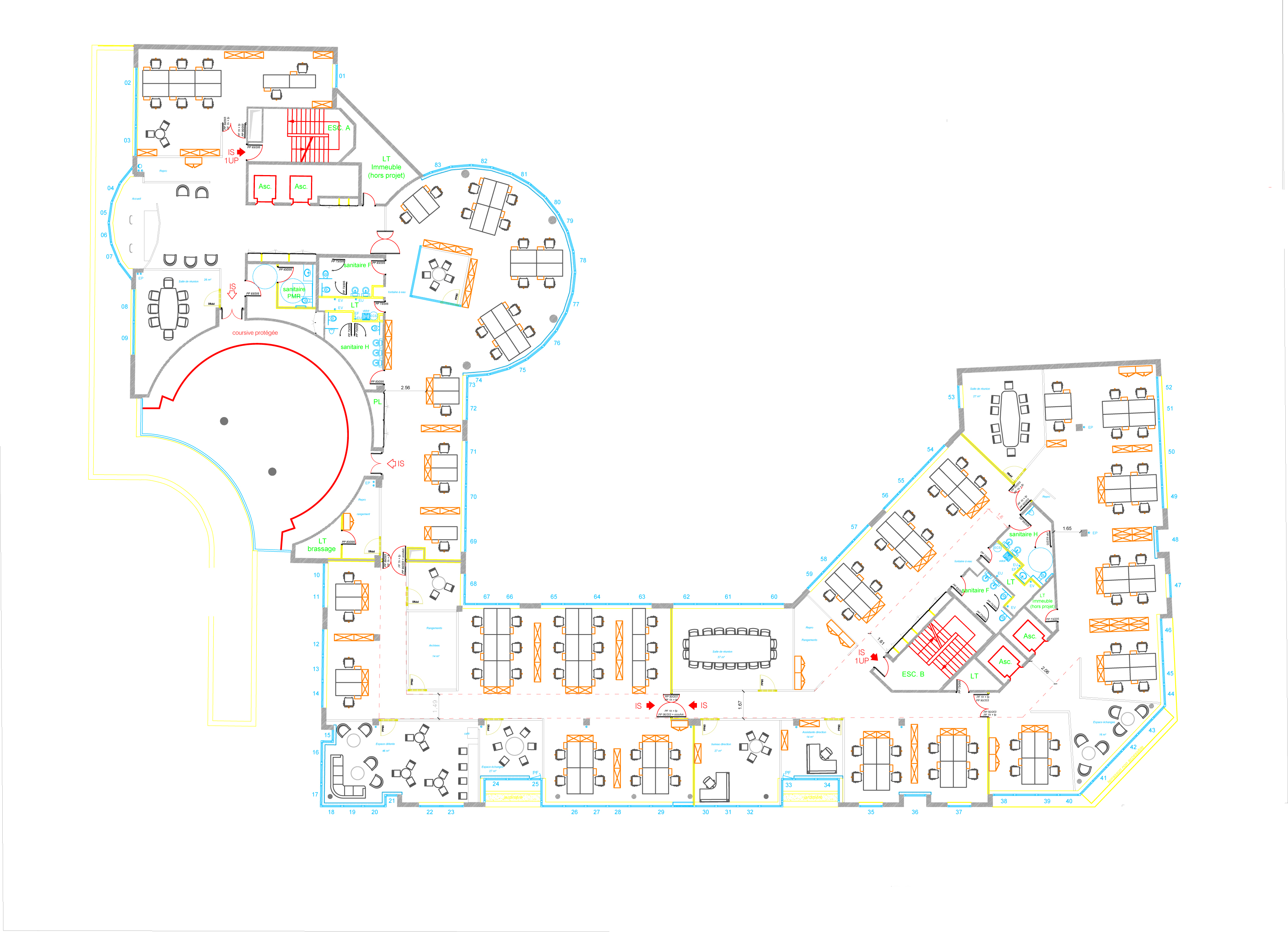 Projet Space Planning - Levallois
