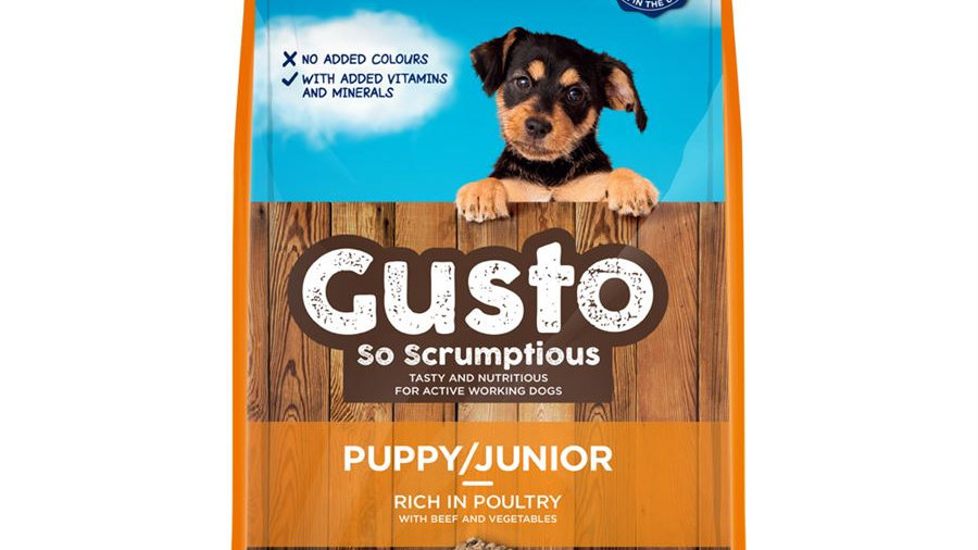 Gusto Puppy/Junior with Poultry (12kg)