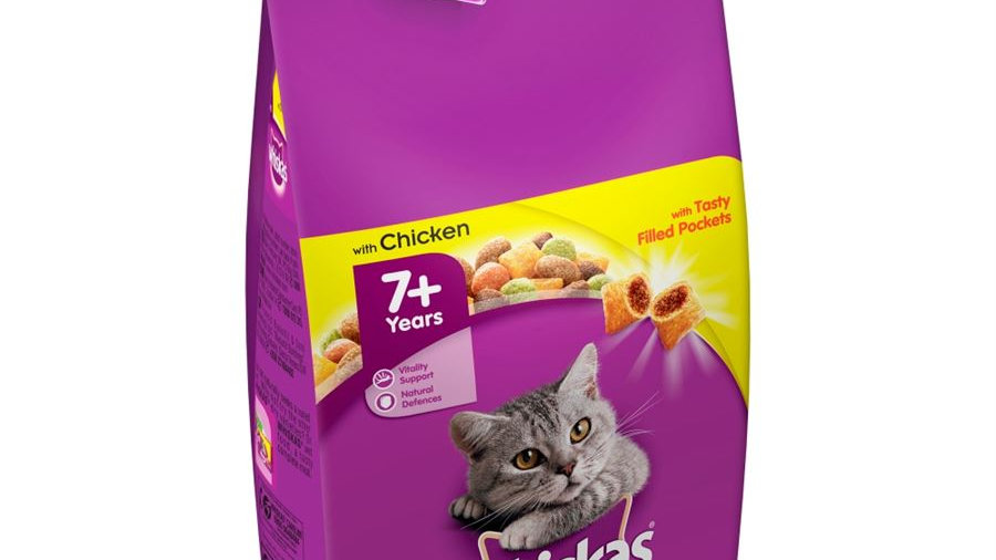 Whiskas Dry Complete 7+ Senior with Chicken