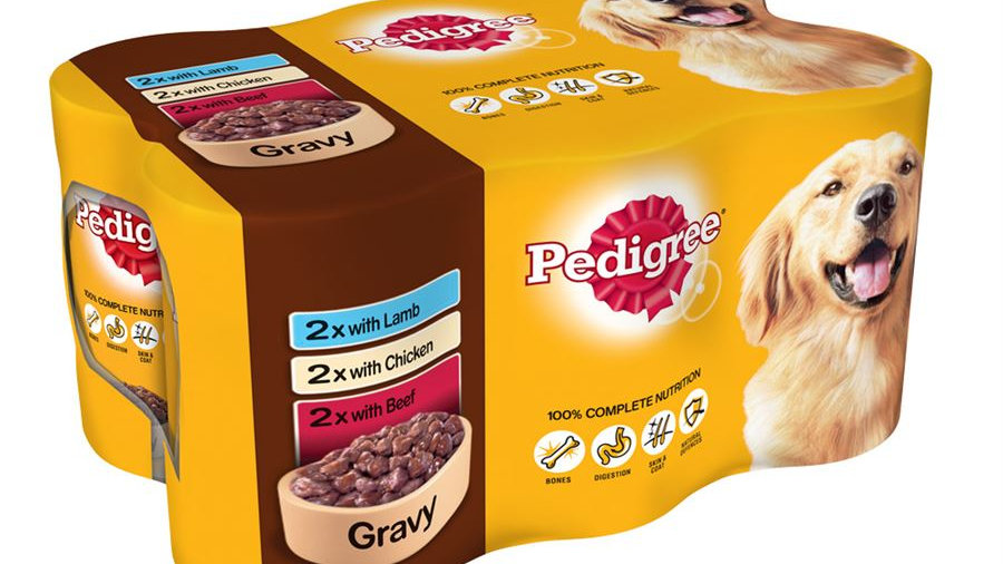 Pedigree Mixed Selection in Gravy Tins