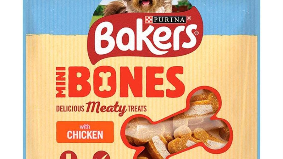 Bakers Rewards Mini Bones Chicken