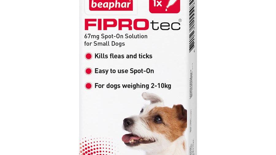 Beaphar Fiprotec S Dog Spot On Flea & Tick Treatment