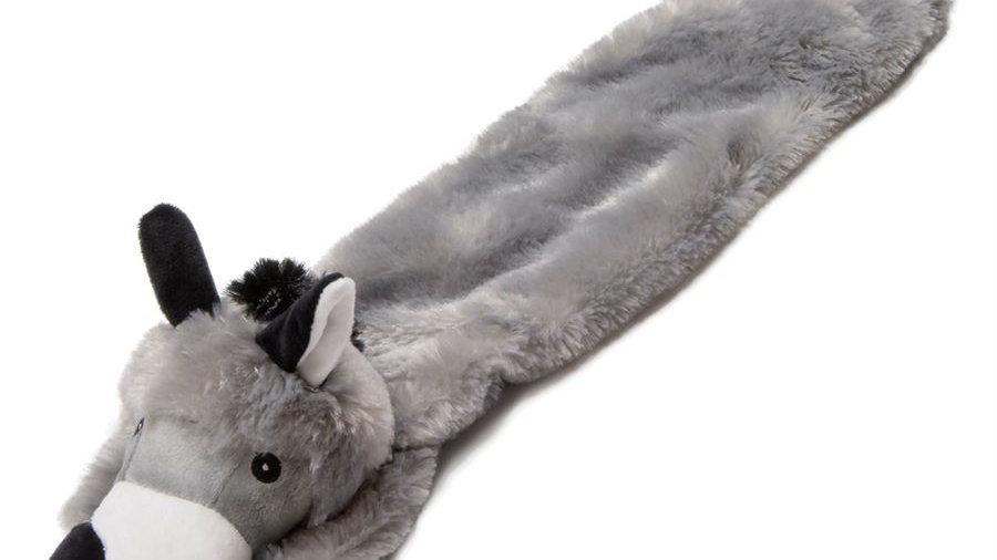 "Animate Flat Stuffed Head Donkey Grey 24"""