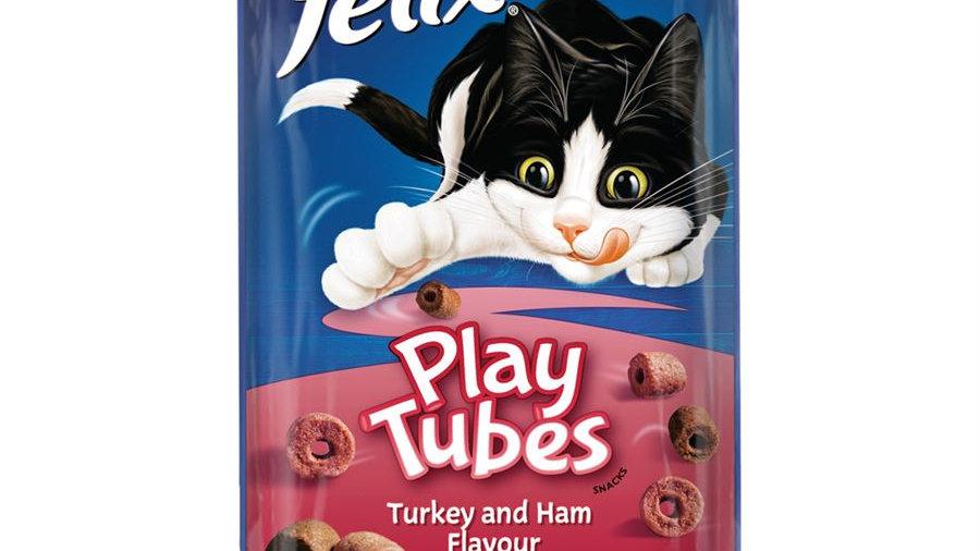 Felix Play Tubes Turkey & Ham Treats