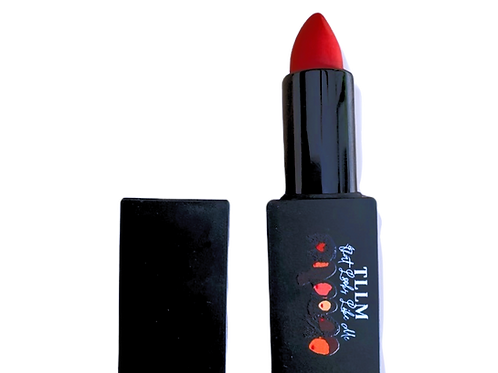 """Left on Red"" Demi Matte Lipstick"