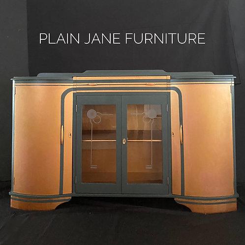 Art Deco Copper Sideboard