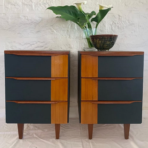 Mid Century Bedsides