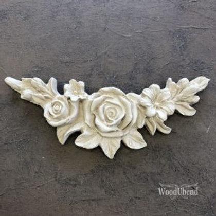 Flower Garland WUB0349 15.7 x 6.2cm
