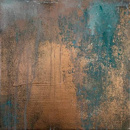 Verdigris Patina Canvases