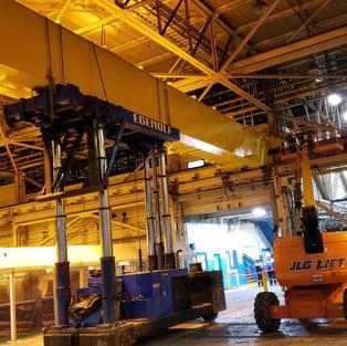 25 Ton Crane Install