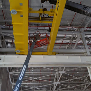 25 Ton New Crane Install