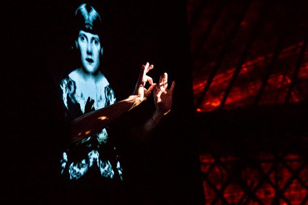 Le Ciném'a Capella . Crédit photo Joseph Banderet