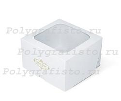 Коробка 160*160*100 мм с окном