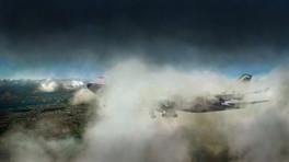Jumbo Through the Clouds