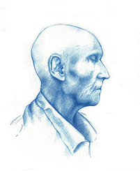 Profile in Blue (Old Man Jenkins)