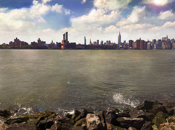 View №14, Manhattan From East River