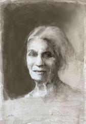 Elderly Woman (Portrait of Emma)