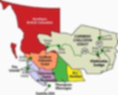 Cariboo Chicotin British Columbia Map