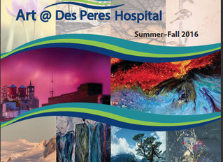 New Paintings On Display at Des Peres Hospital