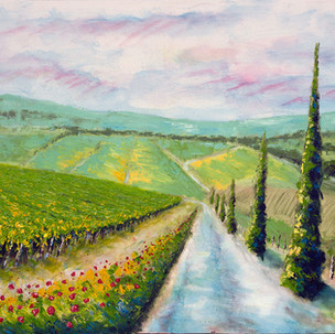 Tuscan Roads (sold)