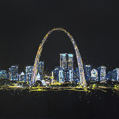 Midnight in St Louis