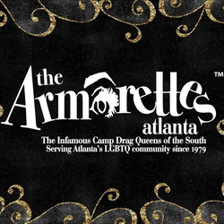 The Armorettes logo bwg