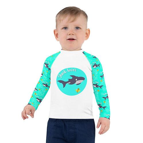 tee shirt anti uv Shark Lover