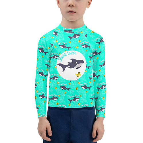 tee shirt uv Shark