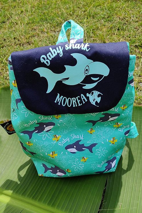sac garderie Baby Shark