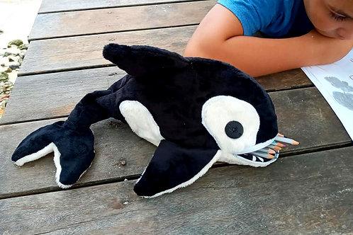 Patron PDf de la trousse Tiko l'orque