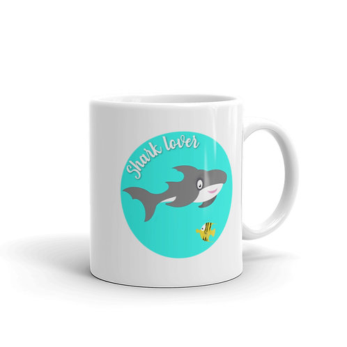 Mug shark lover minimaliste