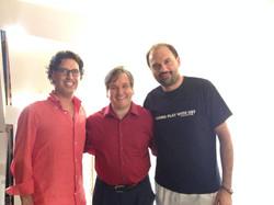 Con Antonio Pappano e David Romano