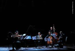 Matteo Musumeci e il suo ensemble