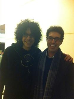 Con l'amico Giovanni Allevi