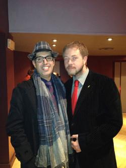 Con l'amico Joe Schettino