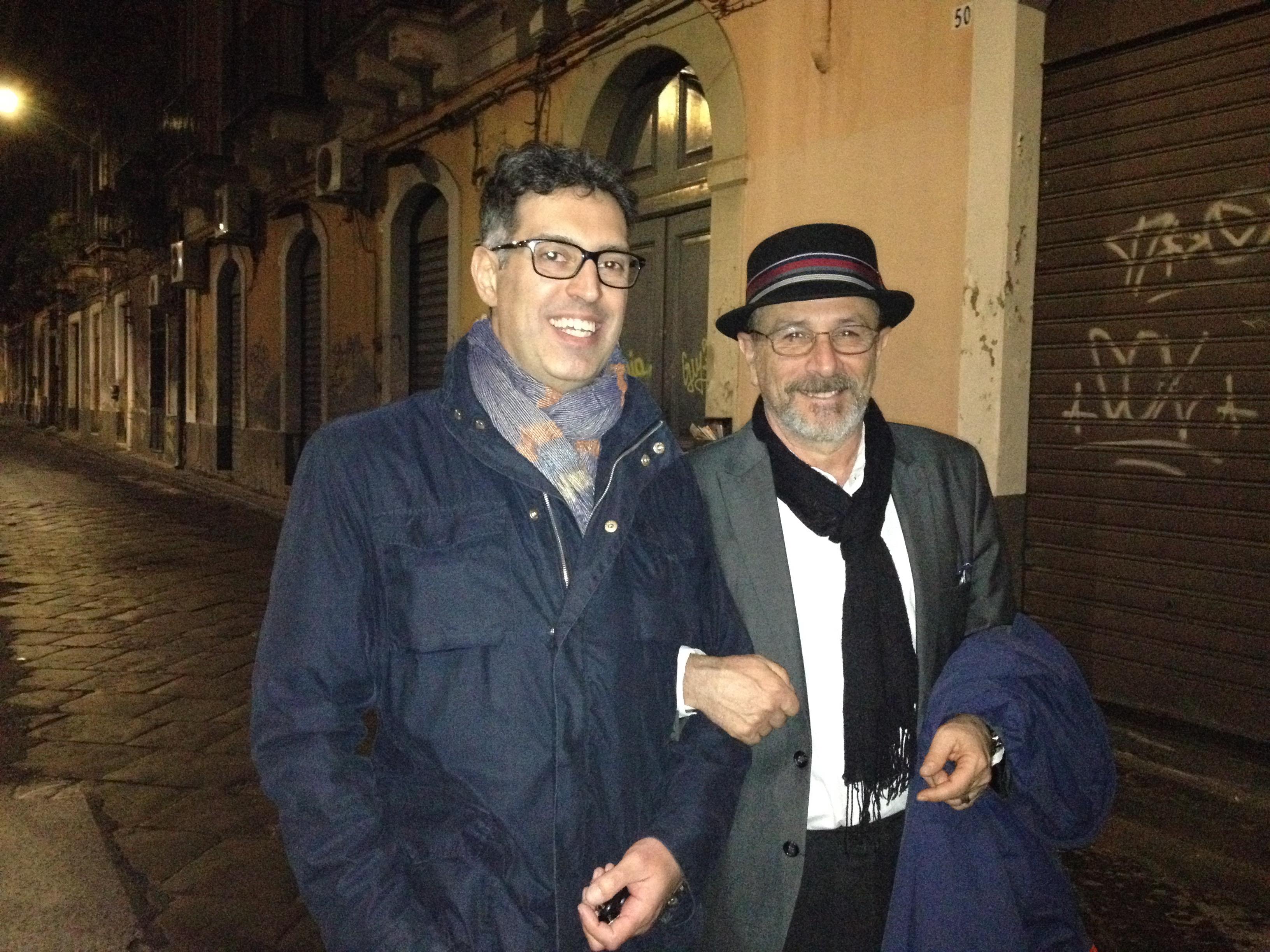 Con Gianni Clementi