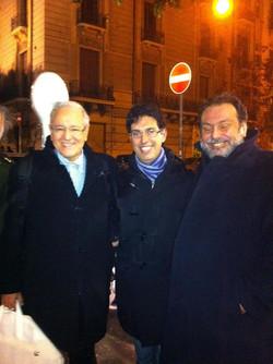 Con David Geringas e Sergio Rendine