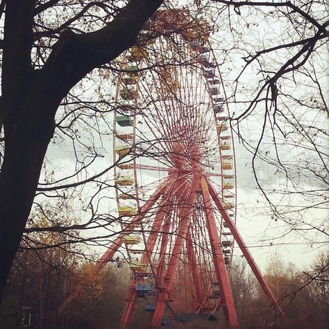 איך מתחתי את הגבול יותר מדי / או - הסיפור על הלונה-פארק הנטוש בברלין