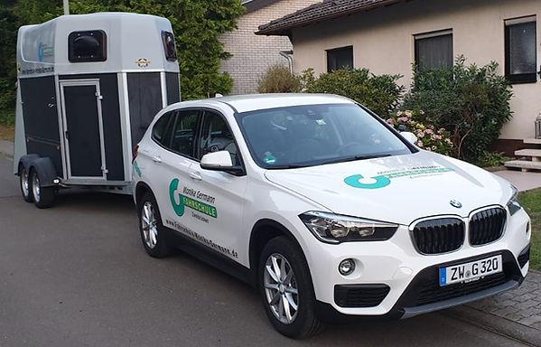 Fahrschule Monika Germann Zweibrücken, BMW X1 Schaltfahrzeug für B und BE