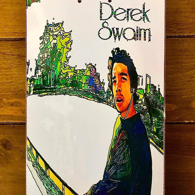 """Derek Swaim Pro model"" (Skateboard Graphic)"