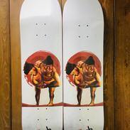 """""""SUMO!"""" (Skateboard Graphic)"""