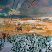 """Mount Seymour Diptych"""" (Right Side)"""
