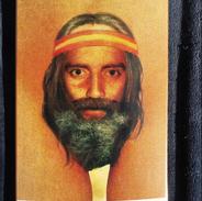 """""""Puss Beard"""" (Skateboard Graphic) (Detail)"""