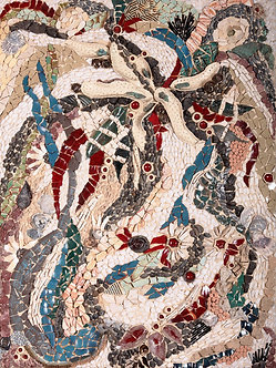 under the sea mosaic