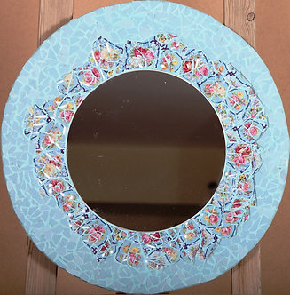 china mosaic  mirror